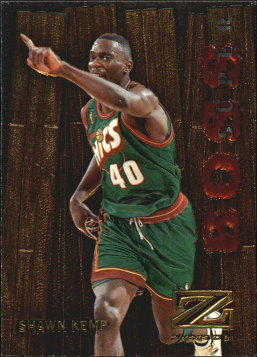 1997-98 Z-Force Super Boss #11 Shawn Kemp