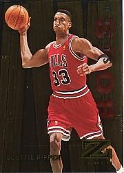 1997-98 Z-Force Super Boss #16 Scottie Pippen