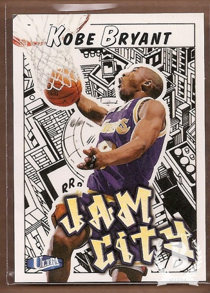 1997-98 Ultra Jam City #18 Kobe Bryant