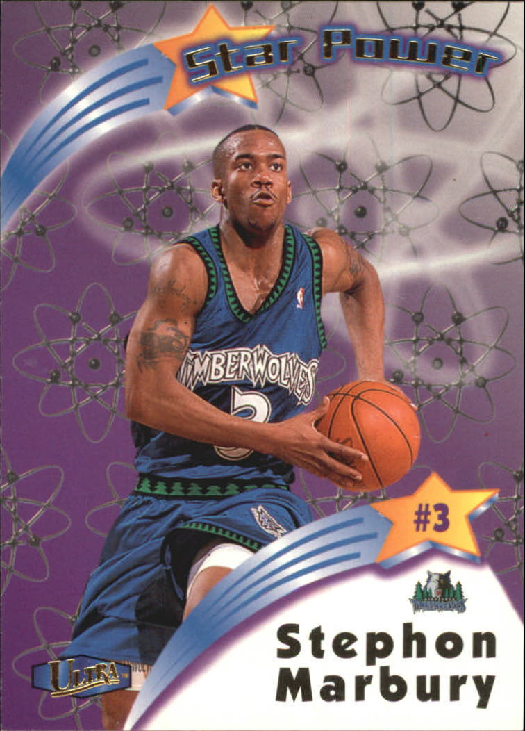1997-98 Ultra Star Power #SP5 Stephon Marbury