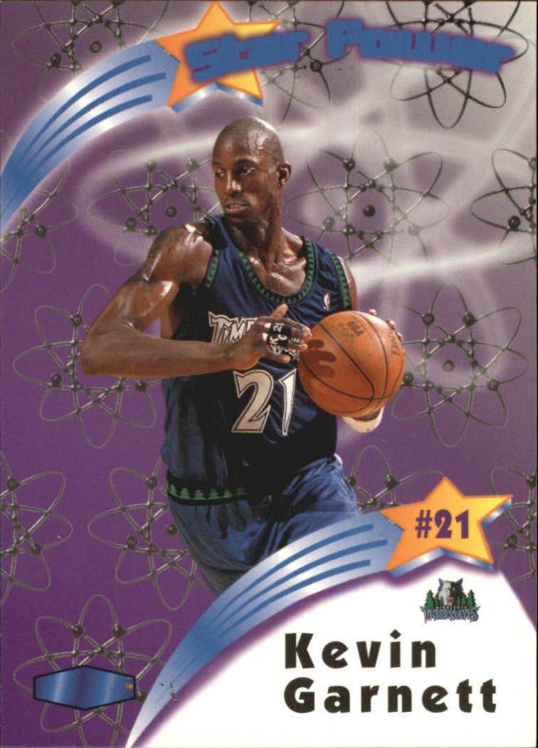 1997-98 Ultra Star Power #SP8 Kevin Garnett
