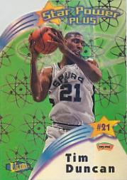 1997-98 Ultra Star Power Plus #SPP18 Tim Duncan