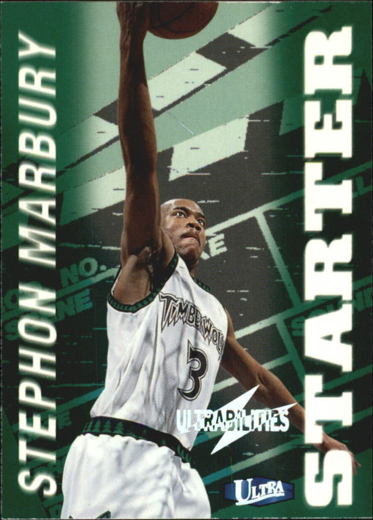 1997-98 Ultra Ultrabilities #5 Stephon Marbury