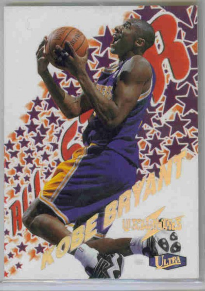 1997-98 Ultra Ultrabilities All-Star #3 Kobe Bryant