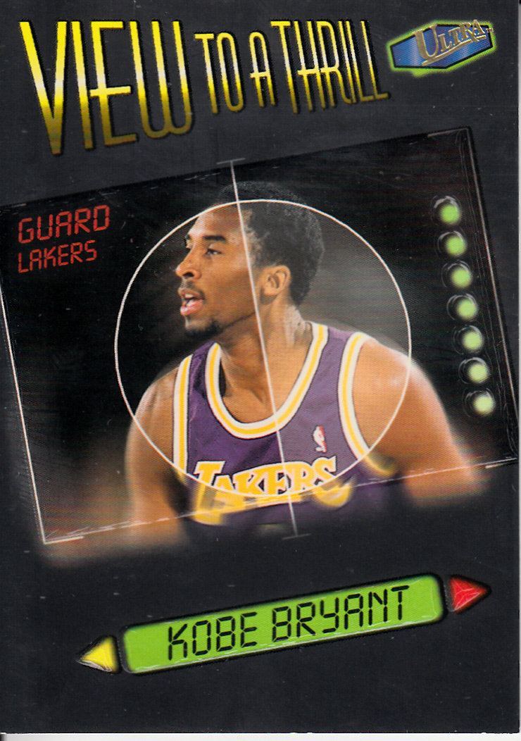 1997-98 Ultra View to a Thrill #VT3 Kobe Bryant