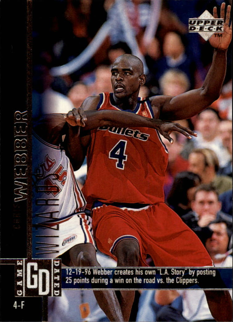 1997-98 Upper Deck #135 Chris Webber