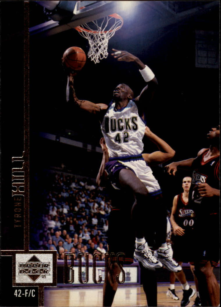 1997-98 Upper Deck #250 Tyrone Hill