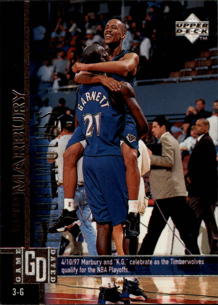 1997-98 Upper Deck #255 Stephon Marbury