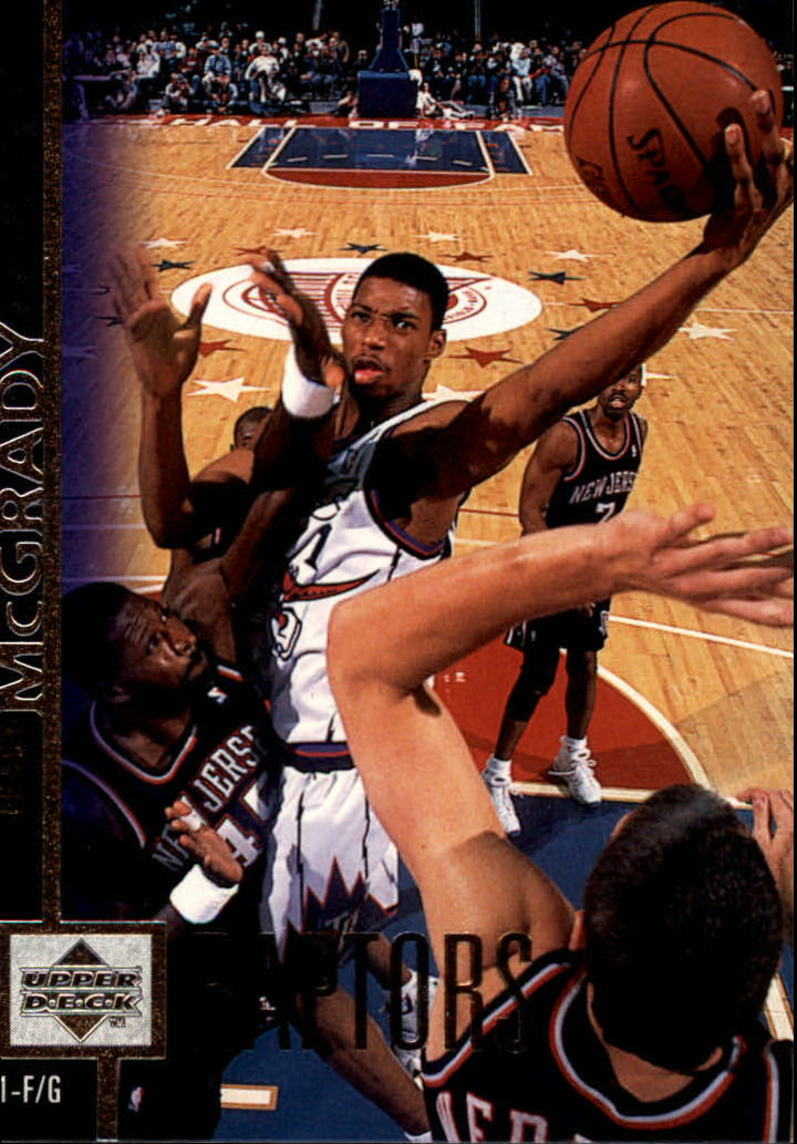 1997-98 Upper Deck #300 Tracy McGrady RC