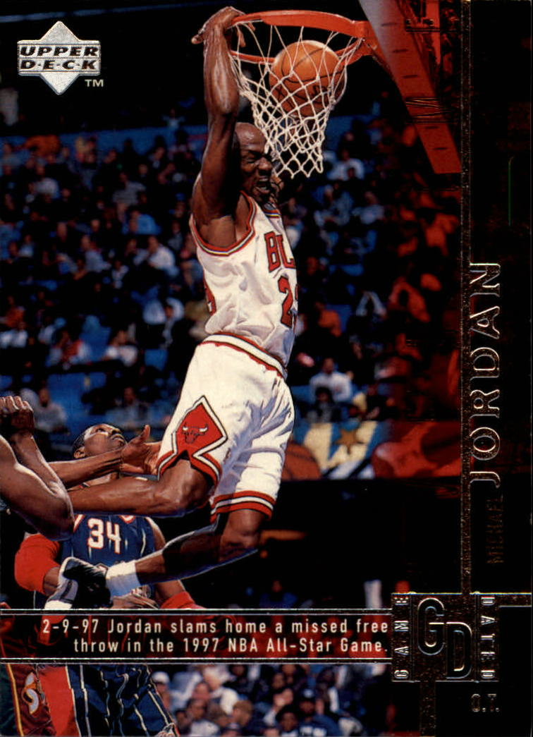 1997-98 Upper Deck #316 Michael Jordan OT
