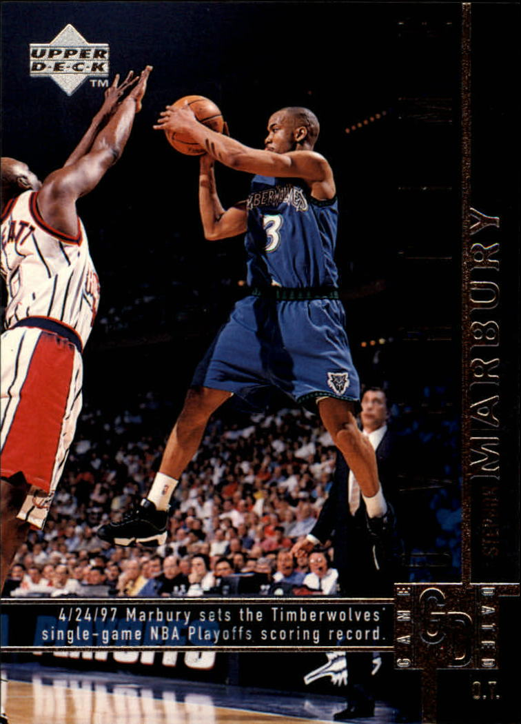 1997-98 Upper Deck #323 Stephon Marbury OT