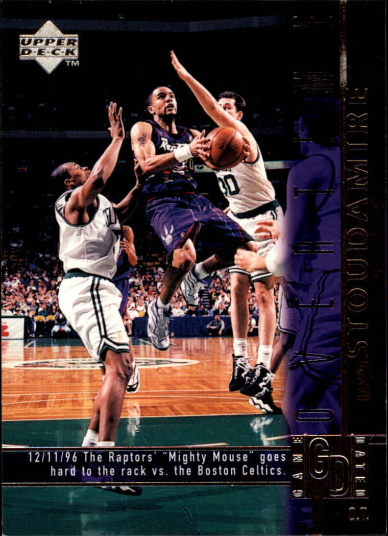 1997-98 Upper Deck #330 Damon Stoudamire OT