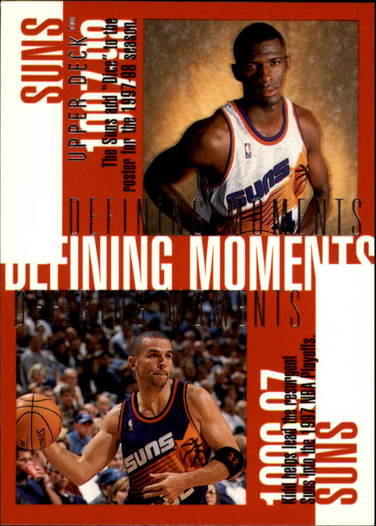 1997-98 Upper Deck #351 Antonio McDyess/Jason Kidd/Charles Barkley/Kevin Johnson