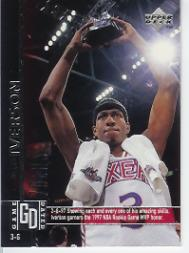 1997-98 Upper Deck Game Dated Memorable Moments #93 Allen Iverson