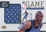 1997-98 Upper Deck Game Jerseys #GJ3 Kevin Garnett
