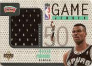 1997-98 Upper Deck Game Jerseys #GJ12 David Robinson