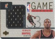 1997-98 Upper Deck Game Jerseys #GJ14 Alonzo Mourning