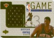 1997-98 Upper Deck Game Jerseys #GJ20 Patrick Ewing