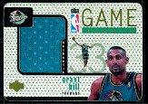 1997-98 Upper Deck Game Jerseys #GJ22 Grant Hill AWAY