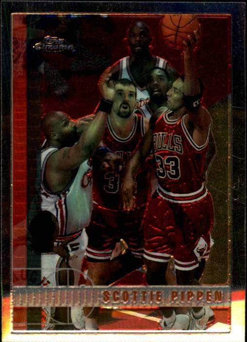 1997-98 Topps Chrome #1 Scottie Pippen
