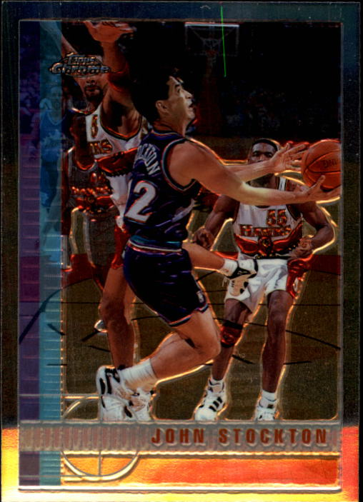 1997-98 Topps Chrome #8 John Stockton