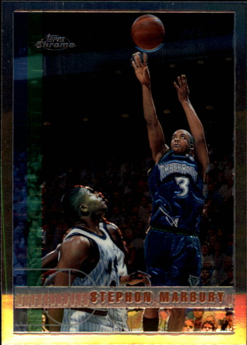 1997-98 Topps Chrome #13 Stephon Marbury