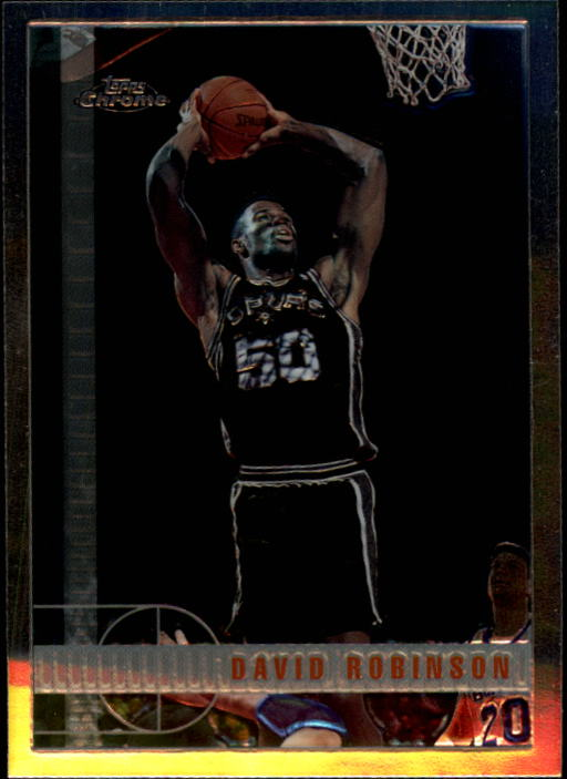 1997-98 Topps Chrome #46 David Robinson