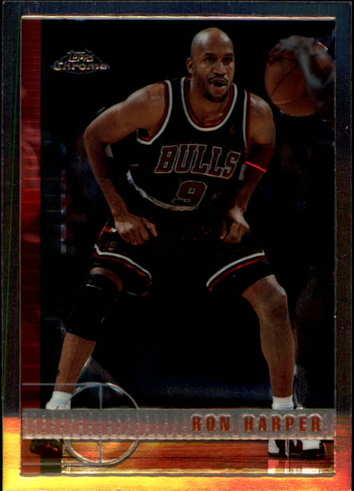 1997-98 Topps Chrome #58 Ron Harper