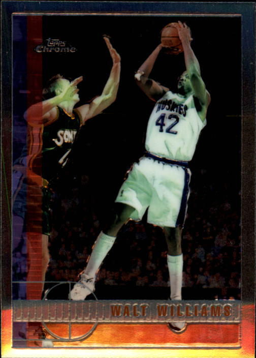1997-98 Topps Chrome #65 Walt Williams