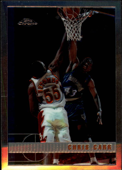 1997-98 Topps Chrome #66 Chris Carr