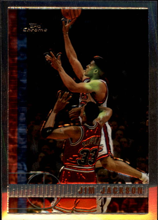 1997-98 Topps Chrome #70 Jim Jackson