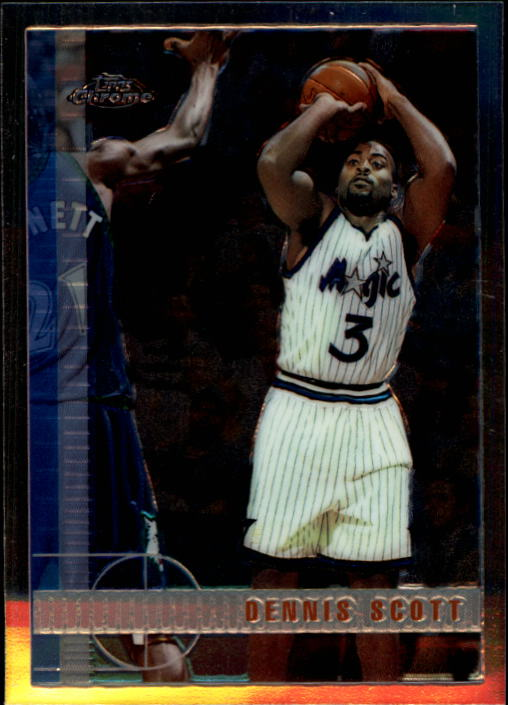 1997-98 Topps Chrome #76 Dennis Scott