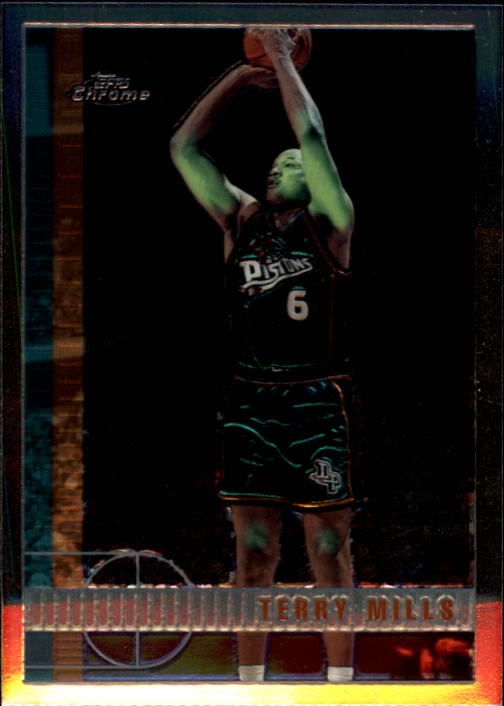 1997-98 Topps Chrome #82 Terry Mills