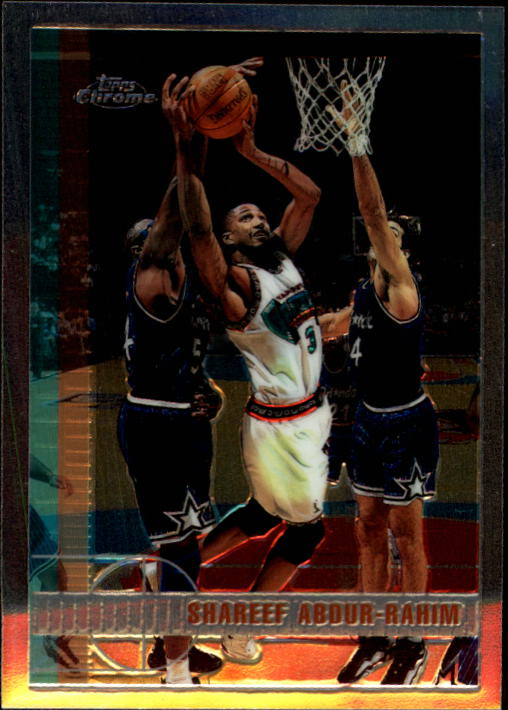 1997-98 Topps Chrome #94 Shareef Abdur-Rahim