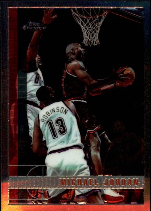 1997-98 Topps Chrome #123 Michael Jordan