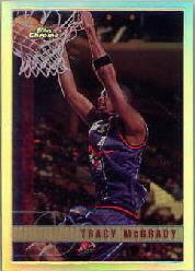 1997-98 Topps Chrome Refractors #125 Tracy McGrady