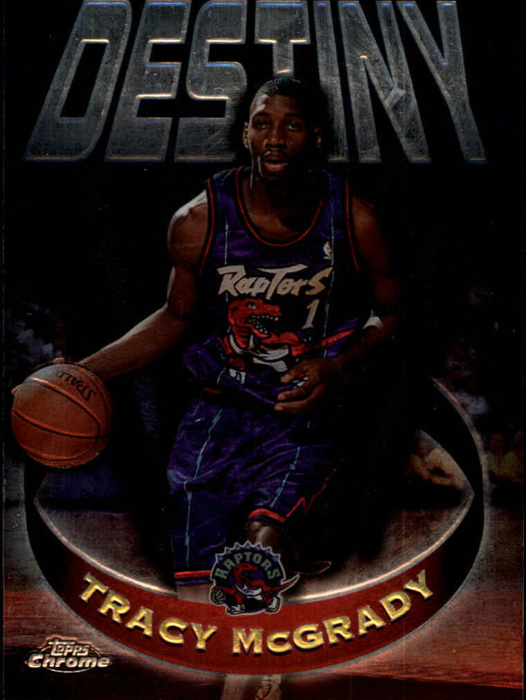 1997-98 Topps Chrome Destiny #D6 Tracy McGrady