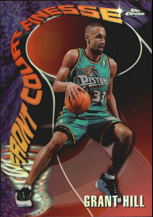 1997-98 Topps Chrome Season's Best Refractors #SB11 Grant Hill