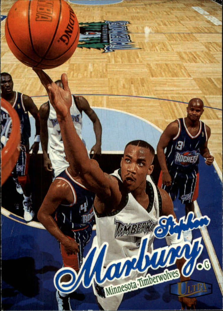 1997-98 Ultra #38 Stephon Marbury