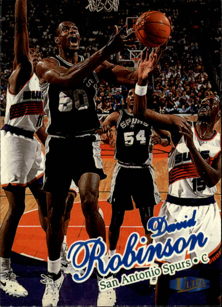 1997-98 Ultra #115 David Robinson