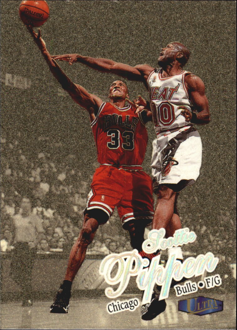 1997-98 Ultra Gold Medallion #55 Scottie Pippen