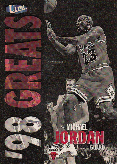 1997-98 Ultra Gold Medallion #259 Michael Jordan GRE