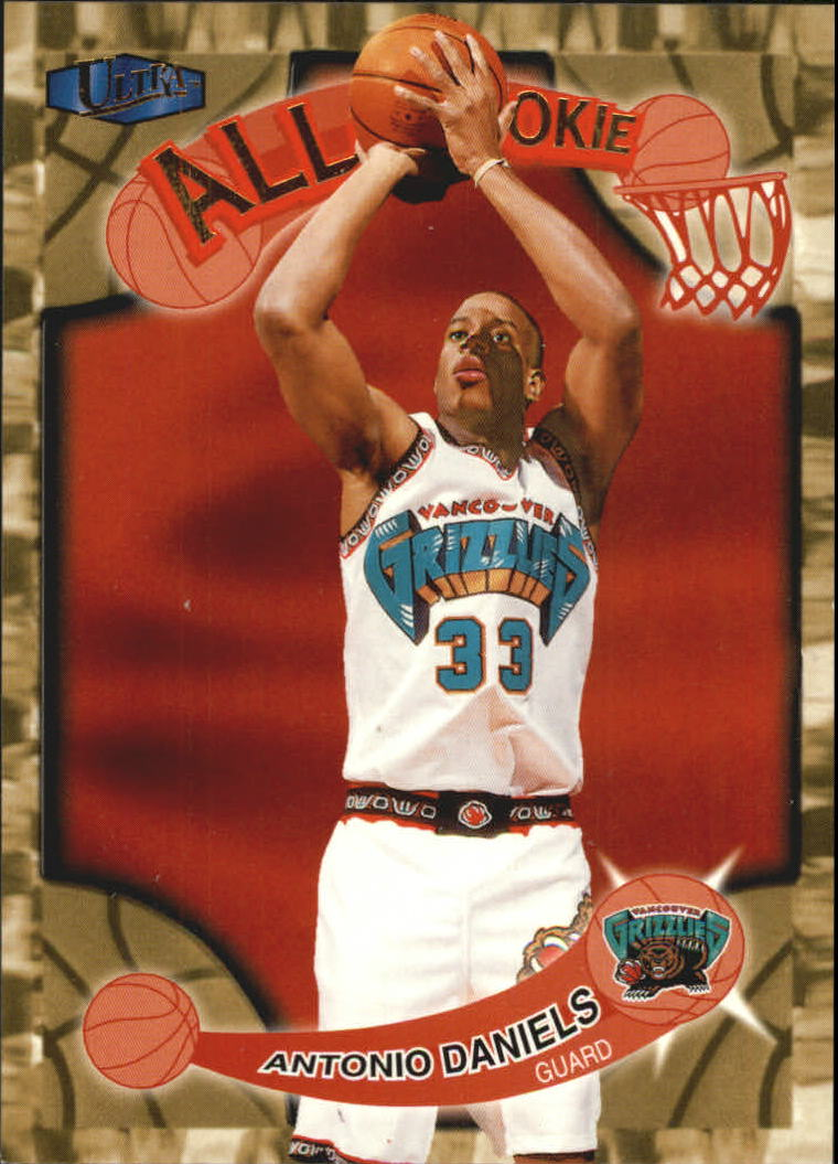 1997-98 Ultra All-Rookies #AR4 Antonio Daniels