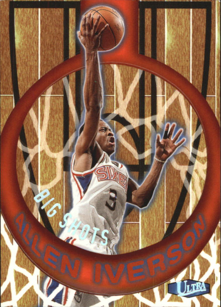 1997-98 Ultra Big Shots #2 Allen Iverson
