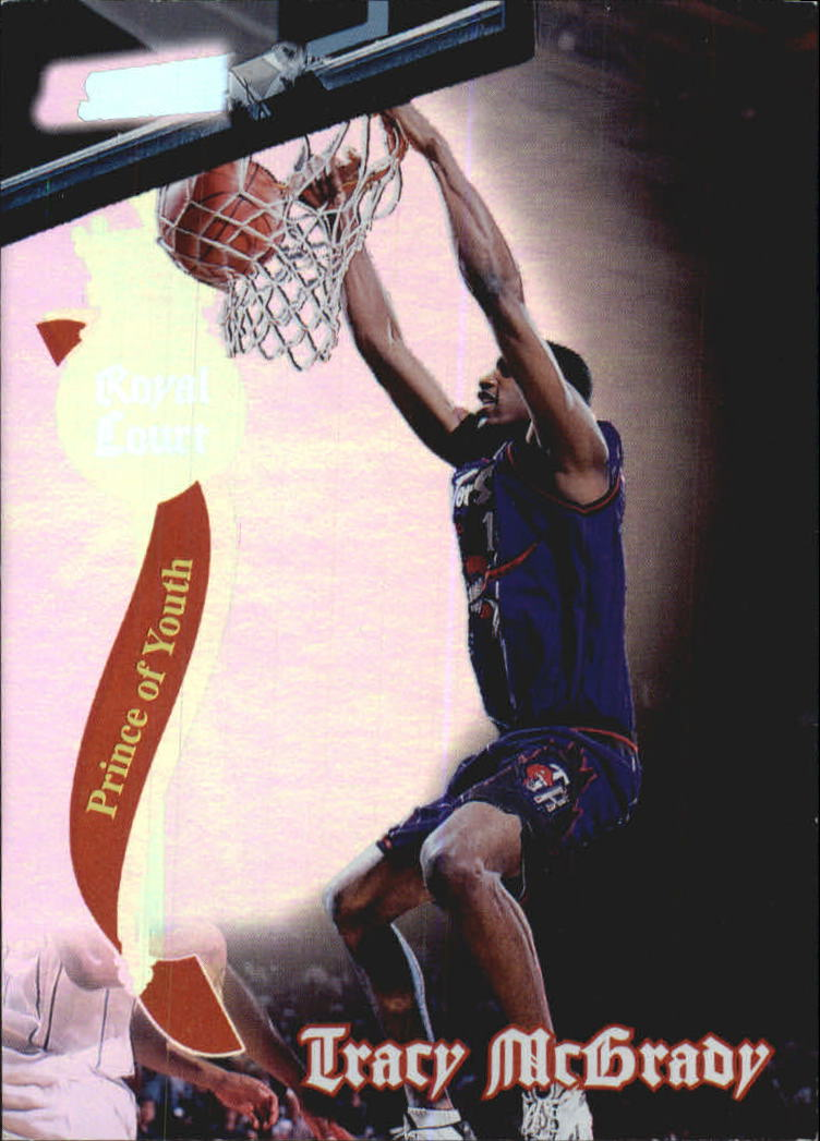1997-98 Stadium Club Royal Court #RC19 Tracy McGrady