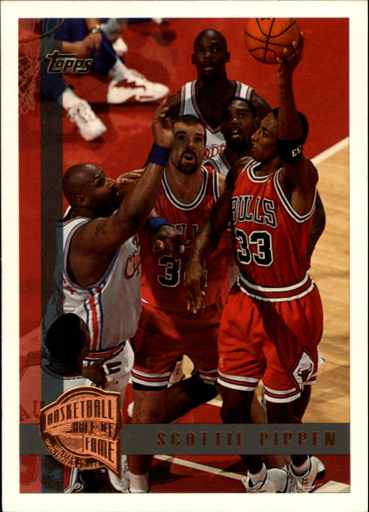 1997-98 Topps Minted in Springfield #1 Scottie Pippen