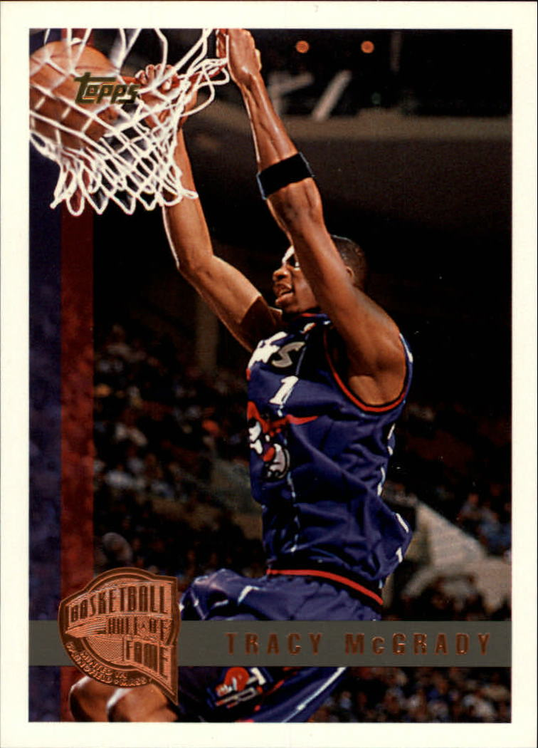 1997-98 Topps Minted in Springfield #125 Tracy McGrady