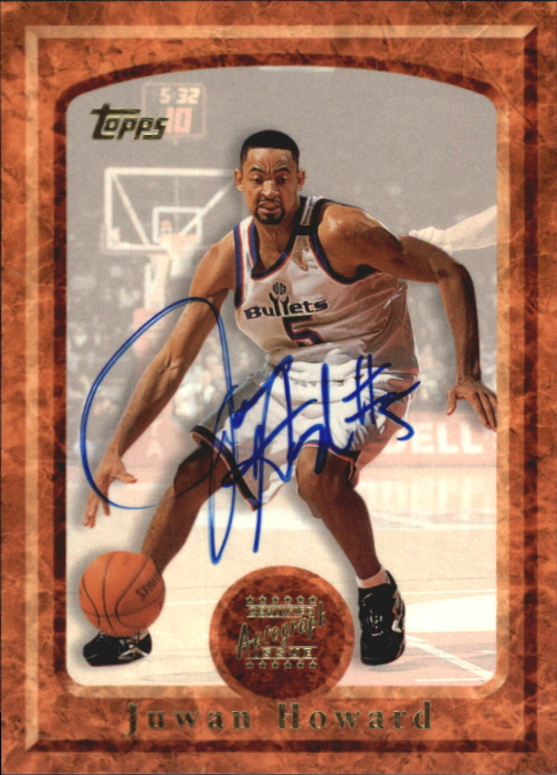 1997-98 Topps Autographs #2 Juwan Howard