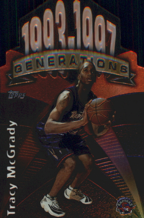 1997-98 Topps Generations #G30 Tracy McGrady