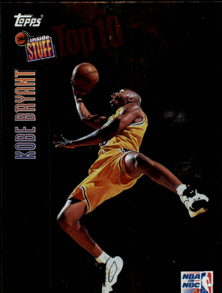1997-98 Topps Inside Stuff #IS9 Kobe Bryant
